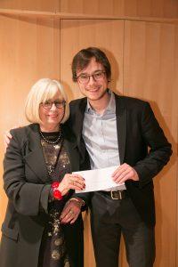 Nicolas Ellis, lauréat