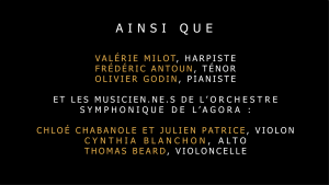 Concert-apéro du 26 novembre 2020 | Musiciens et musiciennes