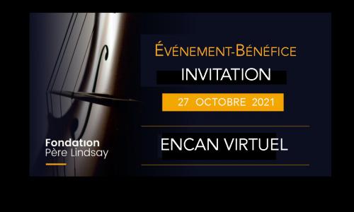 Invitation Événement-Bénéfice 2021